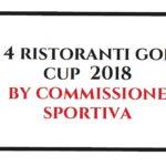 i 4 ristoranti golf cup 2018